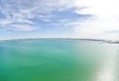 Озеро Чаны сверху