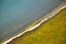 Берег озера с высоты
