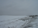 Крутой зимний берег