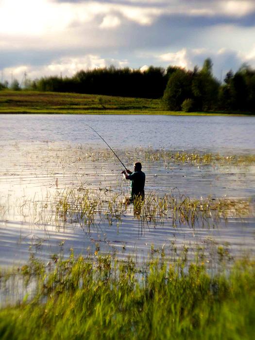 рыбалка на реке белая калитва